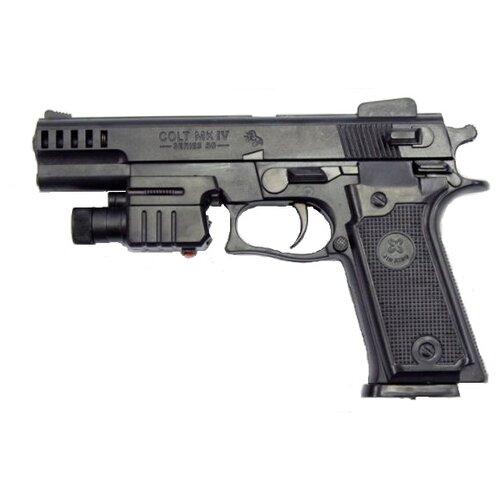 Игрушка Пистолет механический игрушка