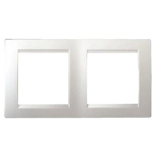 Рамка 2п Simon 1500620-030 белый рамка simon 15 1500620 030 2 я белая