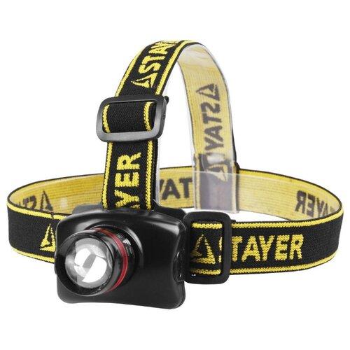 Налобный фонарь STAYER брюки stayer stayer mp002xw1gkru