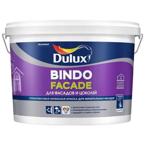 Краска латексная Dulux Bindo грунт bindo base dulux водно дисперсионный 10 л