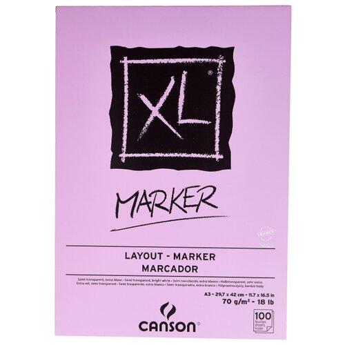 Альбом для маркеров Canson XL альбом canson xl bristol 42 х