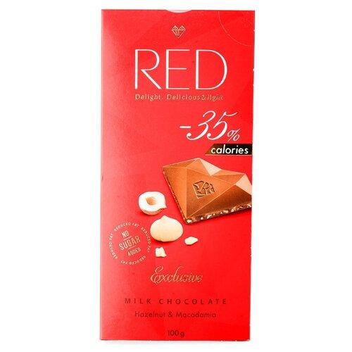 Шоколад Red Молочный RED Фундук sandn red