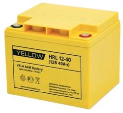 Аккумуляторная батарея YELLOW HRL 12-40 40 А·ч