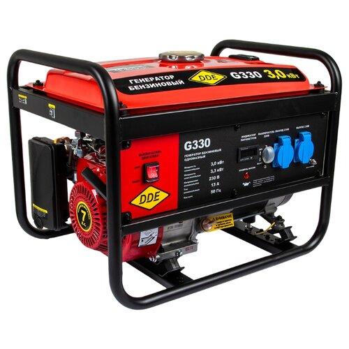 Бензиновый генератор DDE G330