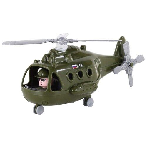 Фото - Вертолет Полесье Альфа военный полесье набор игрушек для песочницы 468 цвет в ассортименте