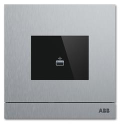 Функциональный модуль для дверной станции/домофона ABB 2CKA008300A0433 серебро