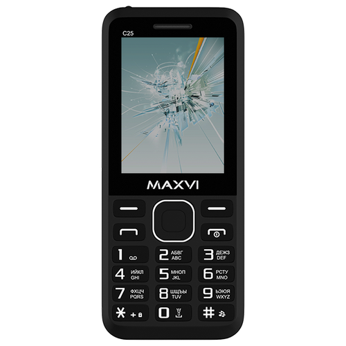 Телефон MAXVI C25 сотовый телефон maxvi c25 black