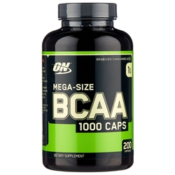 BCAA Optimum Nutrition BCAA 1000 (200 капсул)