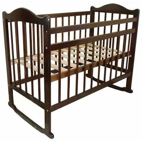Кроватка Мой малыш 4 колесо кровать колыбель мой малыш светлый мм14 1