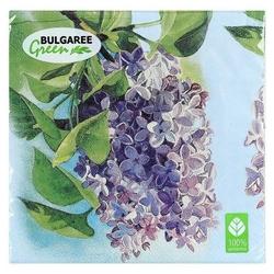 Салфетки Bulgaree green Сирень 33 х 33