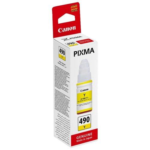 Фото - Чернила Canon GI-490Y 0666c001 чернила revcol универсал для hp canon 100ml yellow dye
