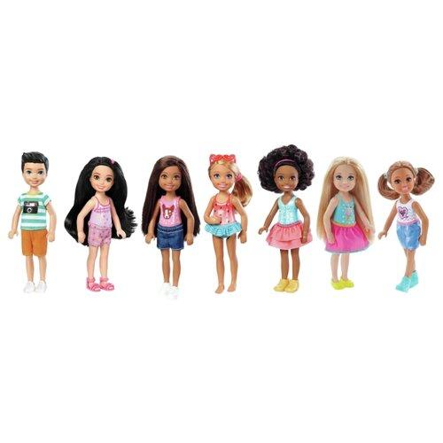 Кукла Barbie Челси 15 см DWJ33