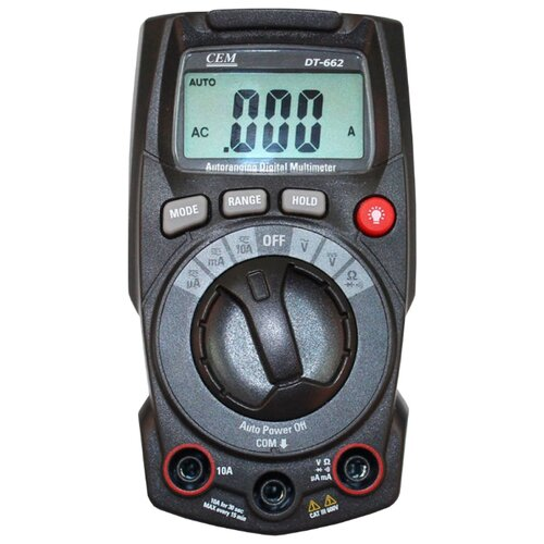 Мультиметр CEM DT-662 мультиметр карманный cem dt 101