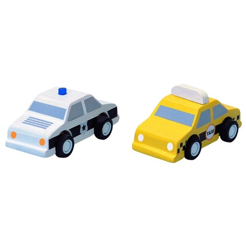 Набор машин PlanToys Такси и игровой набор такси puzzle pilot