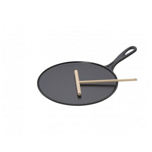 Сковорода блинная LE CREUSET le creuset poterie sonstige küchenartikel тортница на ножке цвет вишневый 30 см
