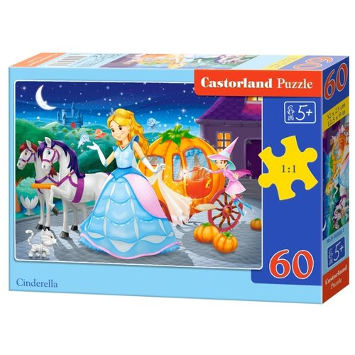 Пазл Castorland Cinderella cinderella cinderella long cold winter 180 gr