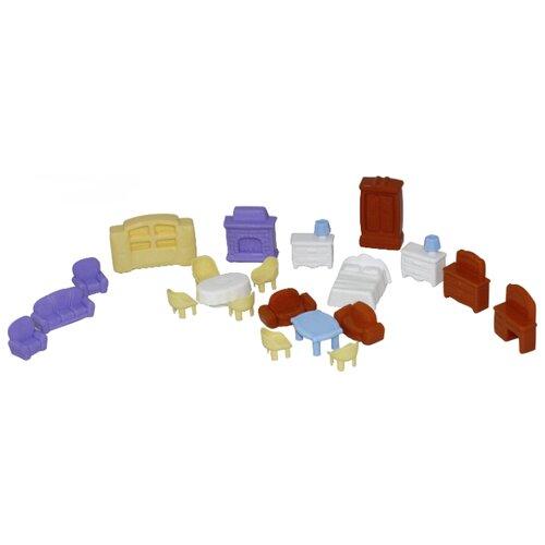 аксессуары для кукол kidkraft набор мебели star Полесье Набор мебели для кукол