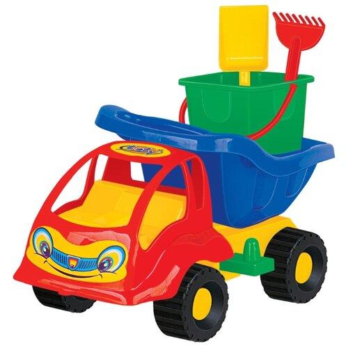 Фото - Грузовик Полесье Муравей 3188 полесье набор игрушек для песочницы 56 муравей цвет в ассортименте