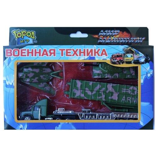 Набор техники Город Игр Мир город игр набор для лепки фиксики разноцветный