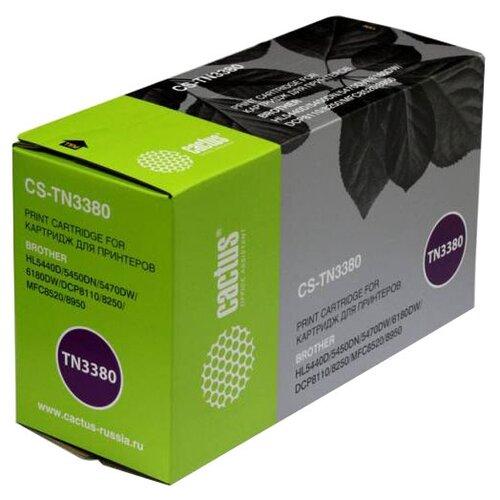 Картридж cactus CS-TN3380 картридж cactus cs tn3380 черный для лазерного принтера