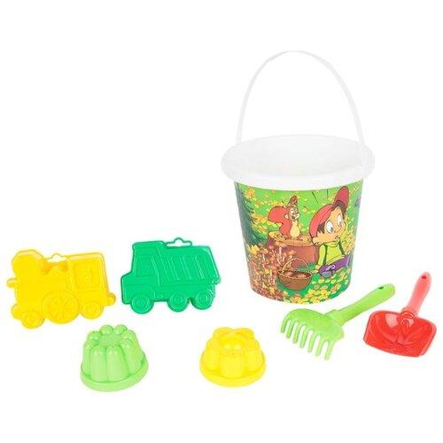 Фото - Набор Полесье №122 9098 полесье набор игрушек для песочницы 468 цвет в ассортименте