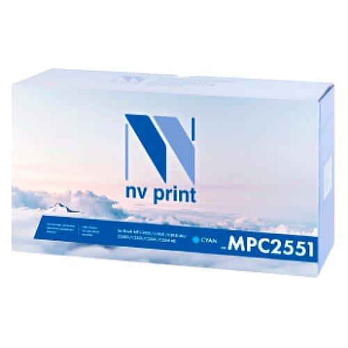 Картридж NV Print MP C2551 Cyan