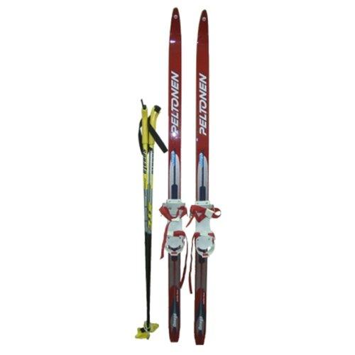 Беговые лыжи STC Wax Jr Combi