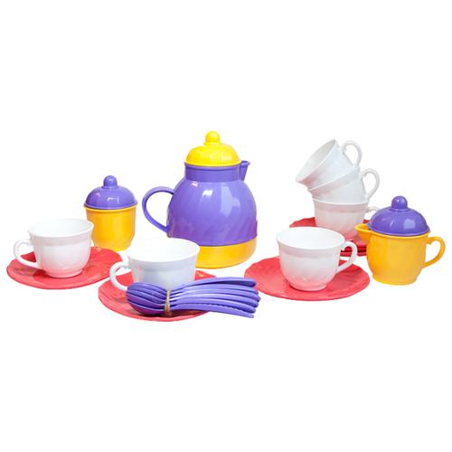 Фото - Набор посуды Росигрушка Большая росигрушка игрушечный чайный набор большая компания