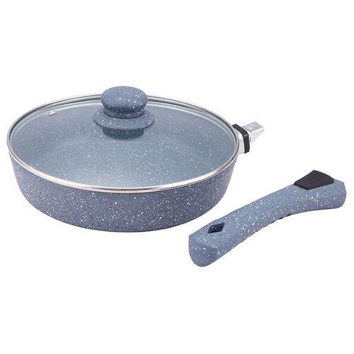 Сковорода Bekker BK-7924 24 см сковорода d 24 см kukmara кофейный мрамор смки240а