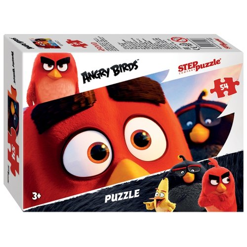 Пазл Step puzzle Angry Birds