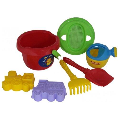Фото - Набор Полесье №244 1167 полесье набор игрушек для песочницы 468 цвет в ассортименте