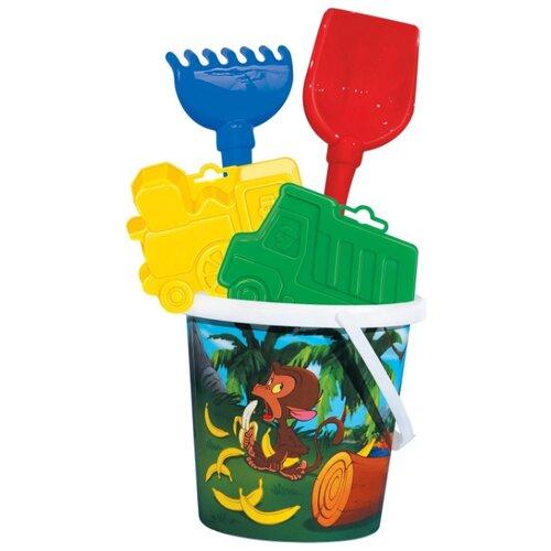 Фото - Набор Полесье №119 9067 полесье набор игрушек для песочницы 468 цвет в ассортименте