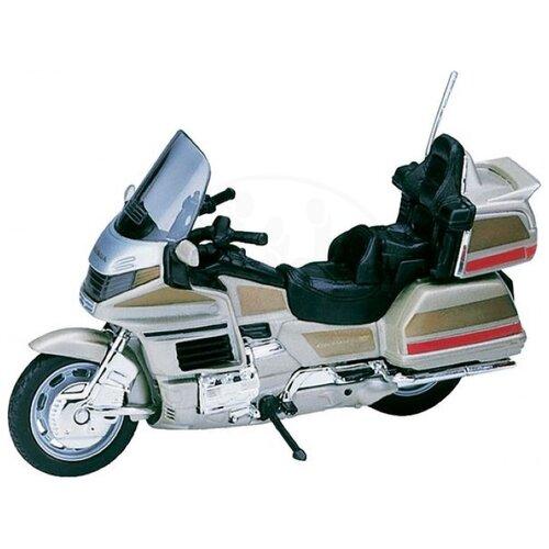 Мотоцикл Welly Honda Gold Wing welly мотоцикл honda hornet