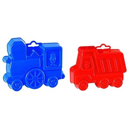 Фото - Набор Полесье самосвал + полесье набор игрушек для песочницы 468 цвет в ассортименте