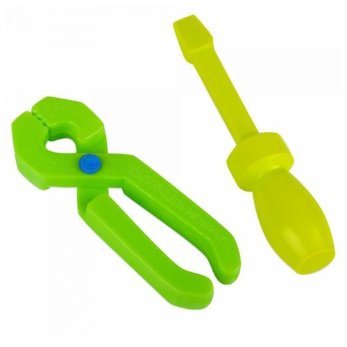 Росигрушка Набор для мастера 2 набор игрушек для ванны росигрушка утка и утята