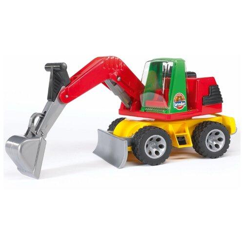 Экскаватор Bruder Roadmax bruder экскаватор – погрузчик колёсный bruder
