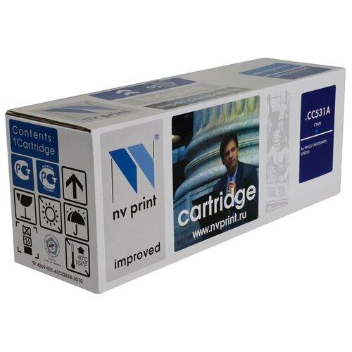 Фото - Картридж NV Print CC531A для HP картридж sakura cc531a crg718с
