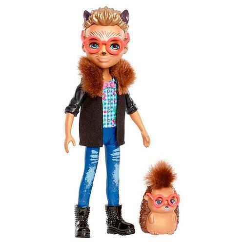 Кукла Enchantimals Хиксби Ежик кукла enchantimals кукла с питомцем fnh22 пики попугай