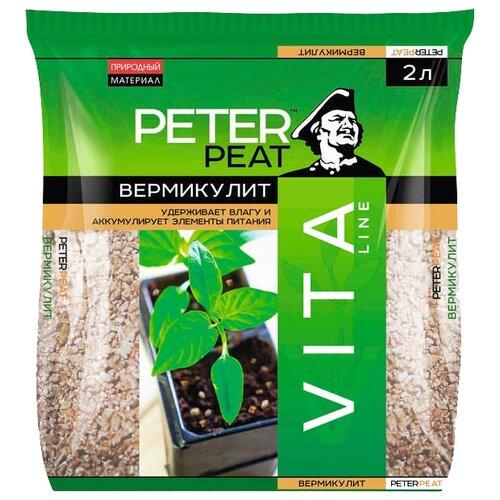 Вермикулит PETER PEAT Vita Line субстрат торфяной peter peat 50 л