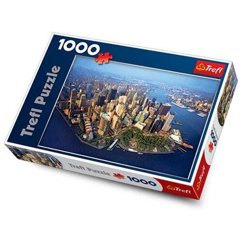 Пазл Trefl Нью-Йорк 10222 1000 trefl пазл приключения смурфов 30 maxi деталей trefl