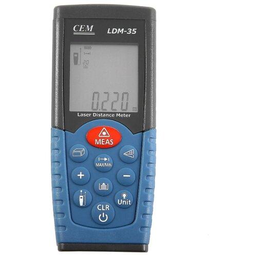 Фото - Лазерный дальномер CEM LDM-35 cem ldm 40 40m electronic scale laser