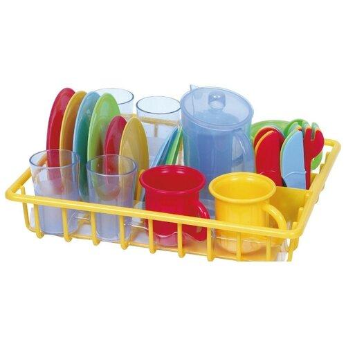Набор посуды PlayGo с сушкой 3118