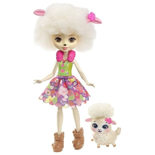 Кукла Enchantimals Лорна кукла enchantimals кукла с питомцем fnh22 пики попугай