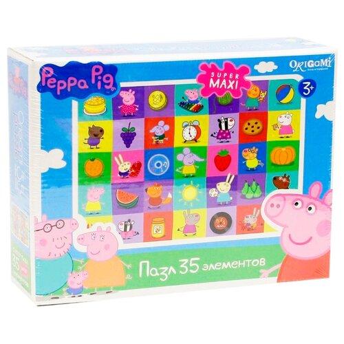 Пазл Origami Peppa Pig Герои и пазл origami peppa pig на отдыхе 4 в 1
