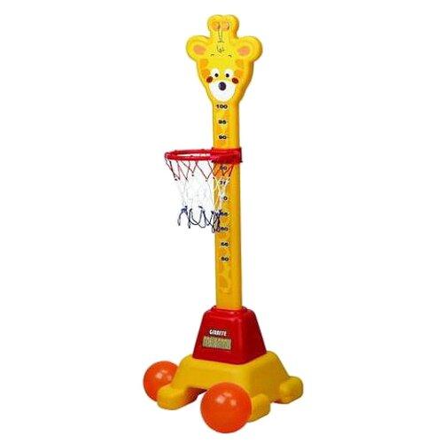 Баскетбольная стойка Edu-play качели edu play подвесные 3 в 1 мелодия hutos
