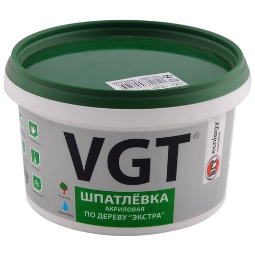 Шпатлевка VGT акриловая по фото