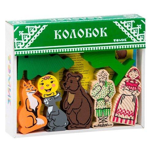 Кубики Томик Колобок 4534-2 конструктор томик сказки колобок 18 элементов 4534 2