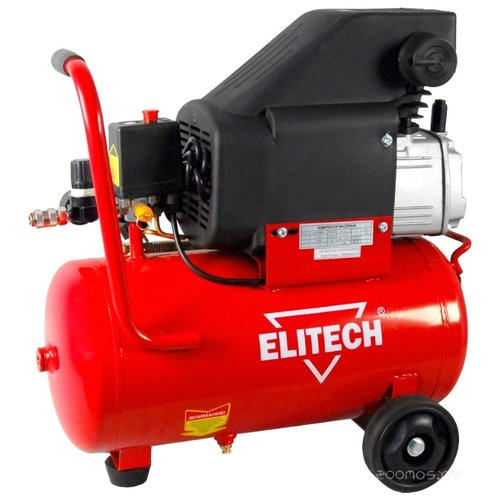 Компрессор ELITECH КПМ 200 24 компрессор масляный elitech кпм 360 25