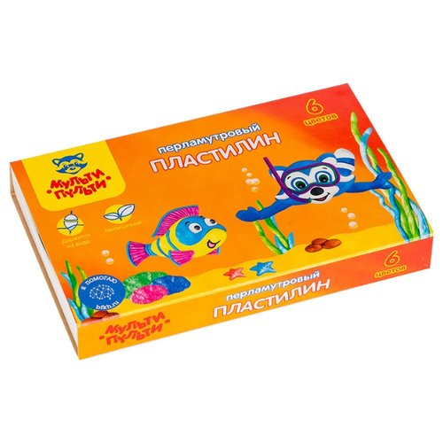 Пластилин Мульти-Пульти Енот в мелки цветные мульти пульти енот в австралии 12шт пластиковое ведро