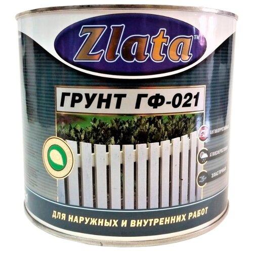 Грунтовка ZLATA ГФ-021 20 кг тюль zlata korunka фототюль полулен крым
